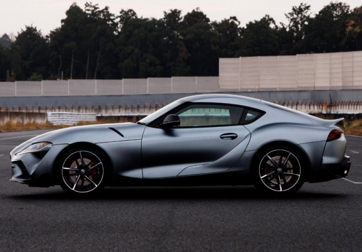 Photos of the new Toyota Supra 2019-2020 model year