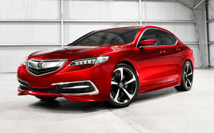 2015 Acura TLX Internal features