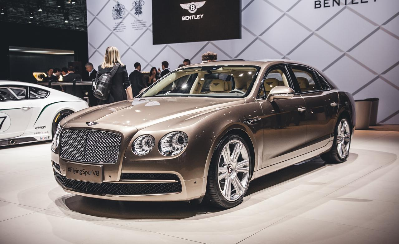 2015 bentley flying spur reviews photos video and price hiclasscar. Black Bedroom Furniture Sets. Home Design Ideas