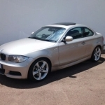 black bmw 1 series coupe for sale