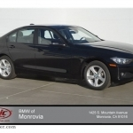 black bmw 3 series 2015