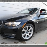 black bmw 3 series with red interior