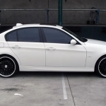 black bmw 323i rims