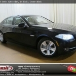 black bmw 5 series 2013