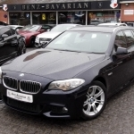 black bmw 5 series m sport for sale