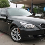 black bmw 5 series price