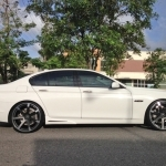 black bmw 5 series rims