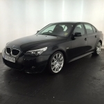 black bmw 520d sale