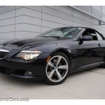 black bmw 6 series convertible for sale