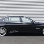 black bmw 7 series