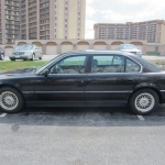 black bmw 740il for sale