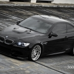 black bmw car photos