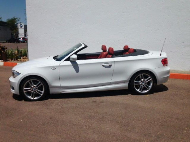 black bmw 1 series convertible for sale photo - 2