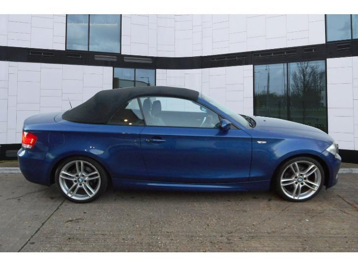 Black Bmw 1 Series Convertible For Photo 5