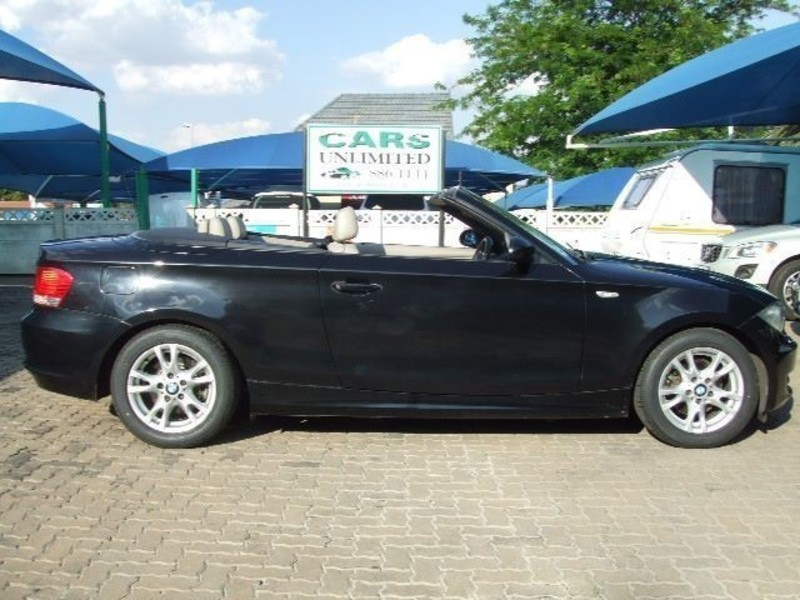 black bmw 1 series convertible for sale photo - 6
