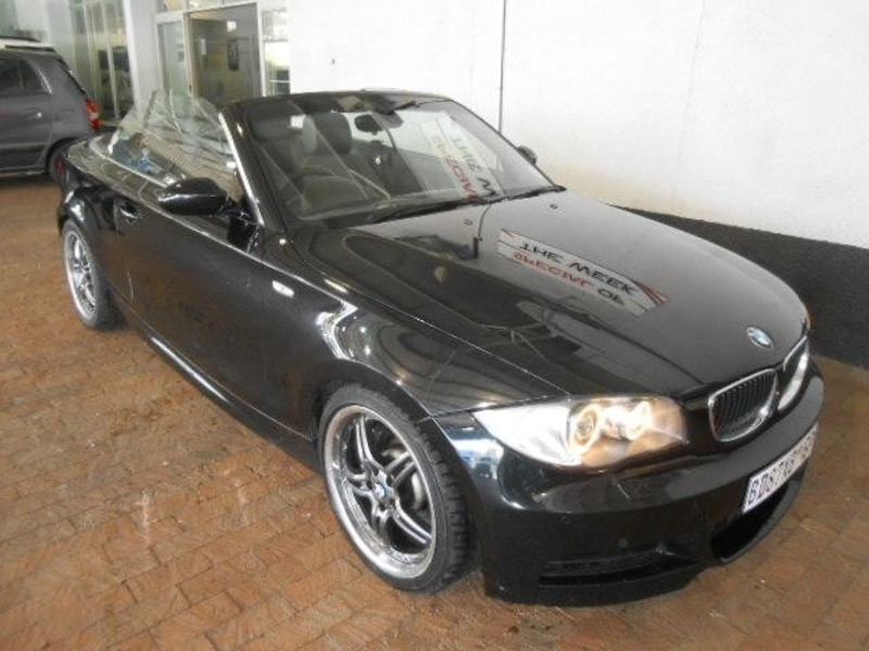 black bmw 1 series convertible for sale photo - 7