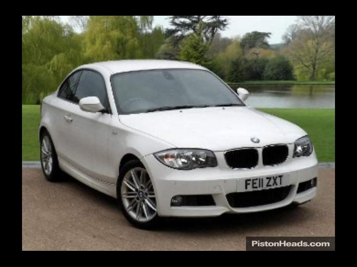 black bmw 1 series coupe for sale photo - 1