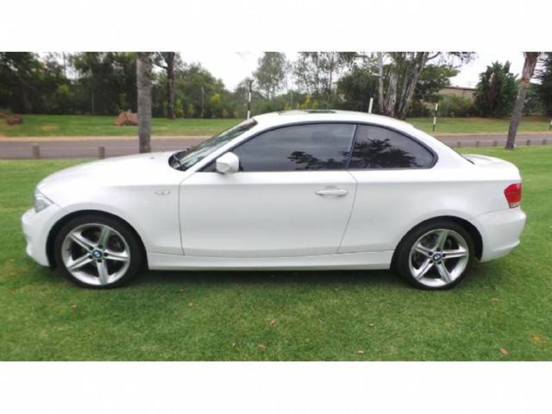 black bmw 1 series coupe for sale photo - 2
