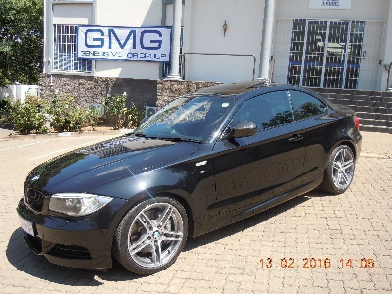 black bmw 1 series coupe for sale photo - 3