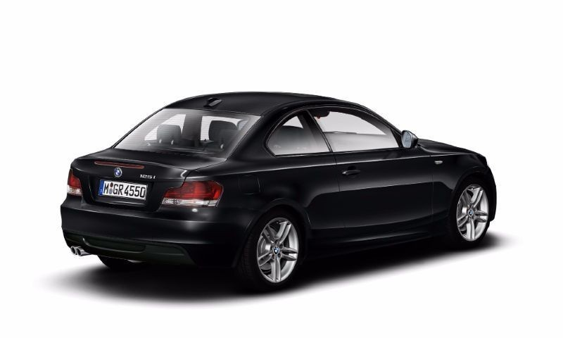 black bmw 1 series coupe for sale photo - 4