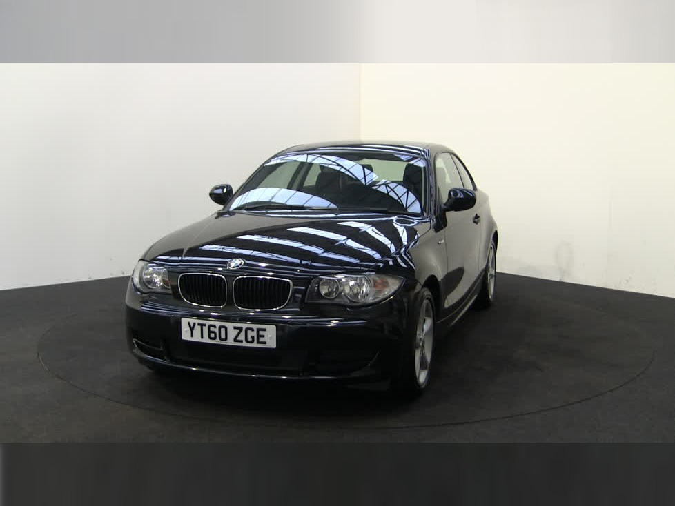 black bmw 1 series coupe for sale photo - 6