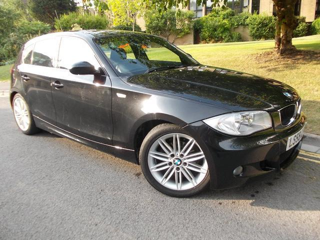 black bmw 1 series for sale photo - 1
