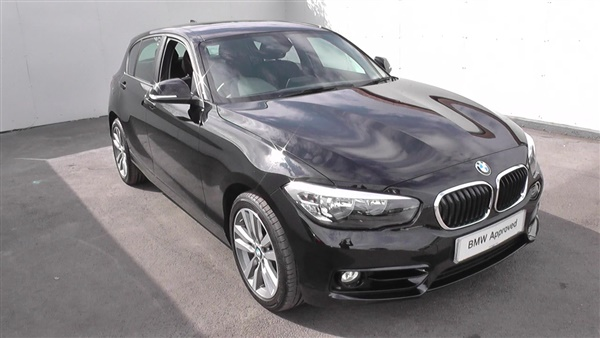 black bmw 1 series for sale photo - 2