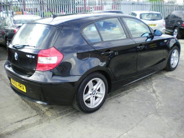 black bmw 1 series for sale photo - 3