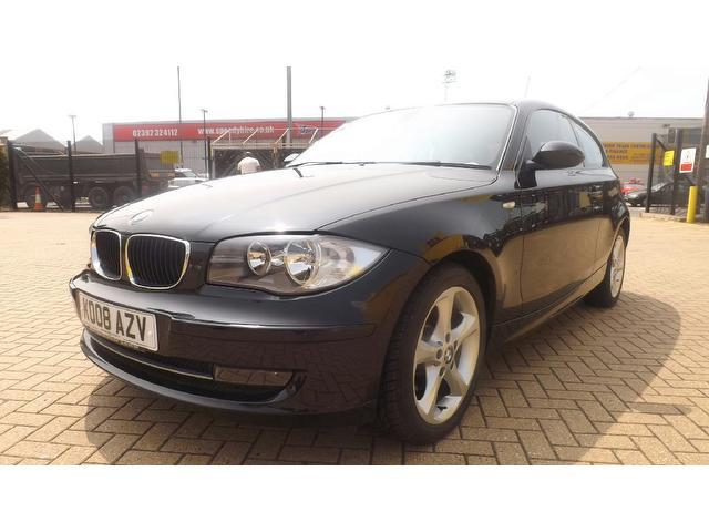 black bmw 1 series for sale photo - 4