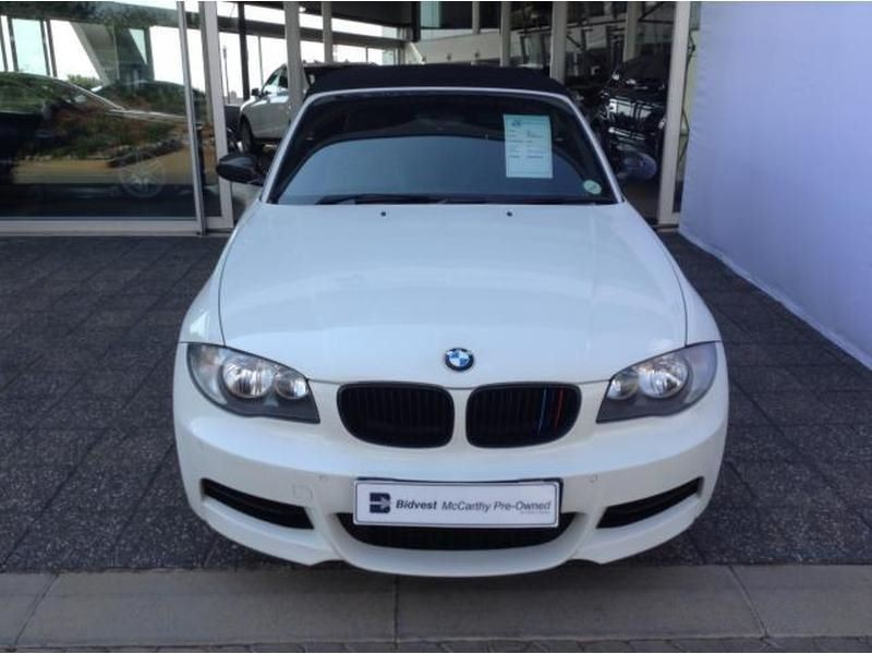black bmw 135i convertible for sale photo - 3