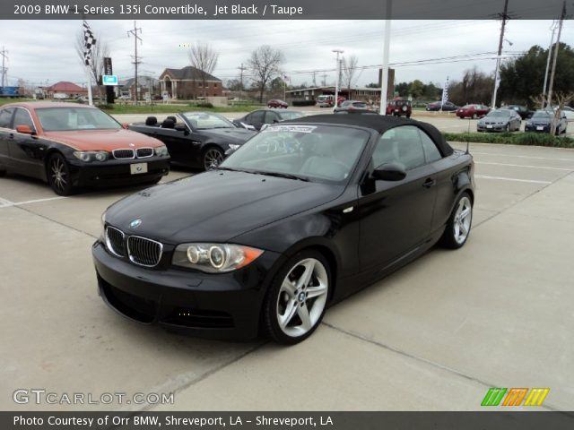 black bmw 135i convertible for sale photo - 5