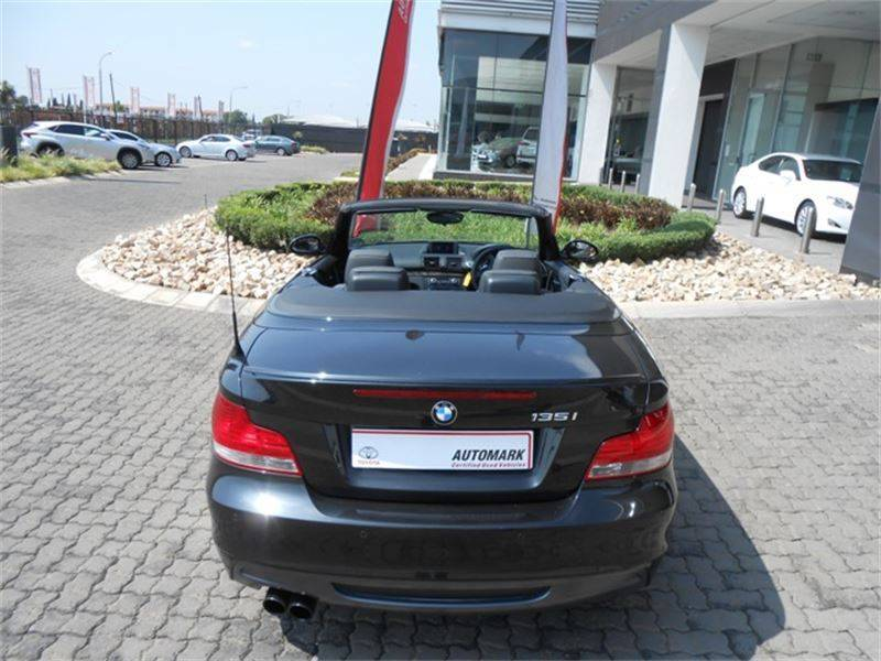 black bmw 135i convertible for sale photo - 6