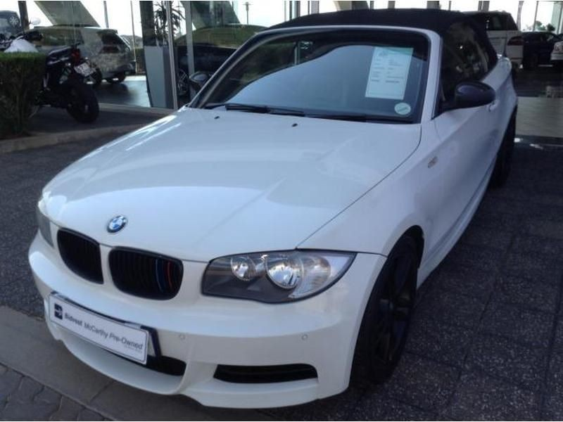 black bmw 135i convertible for sale photo - 7