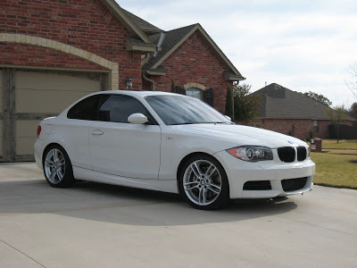 black bmw 135i rims photo - 1
