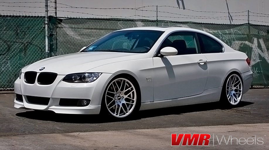 black bmw 135i rims photo - 3