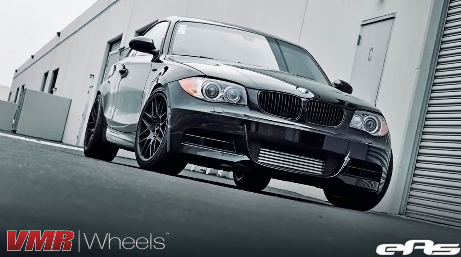 black bmw 135i rims photo - 6