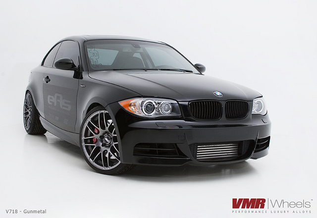 black bmw 135i rims photo - 7