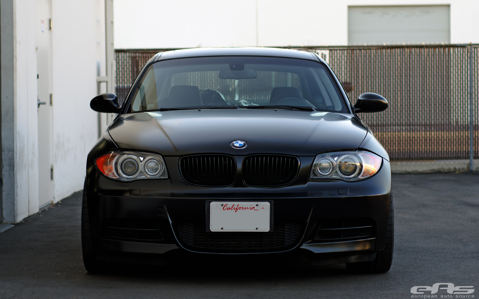 black bmw 135i wheels photo - 3