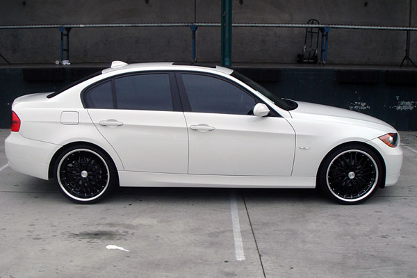 black bmw 18 wheels photo - 1