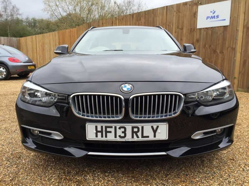 black bmw 320d for sale photo - 1