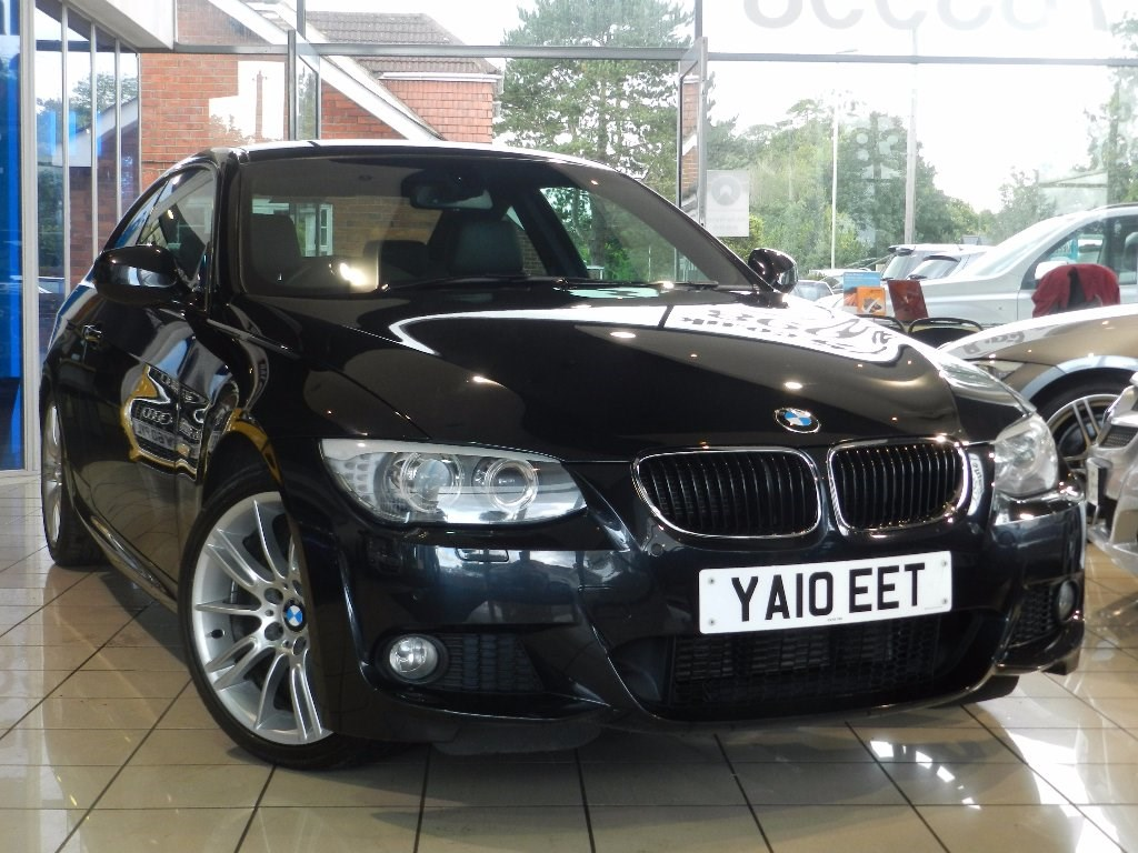 black bmw 320d for sale photo - 2