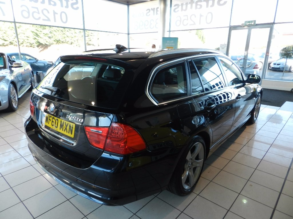 black bmw 320d for sale photo - 3