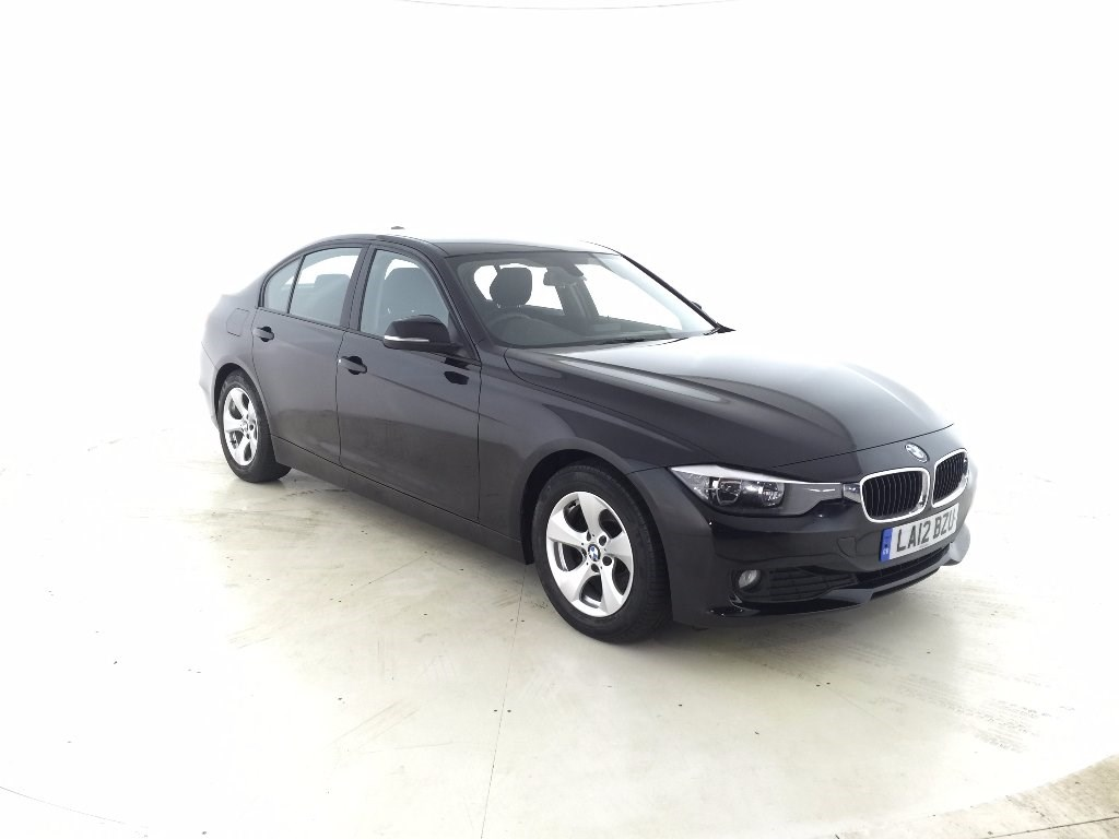 black bmw 320d for sale photo - 4