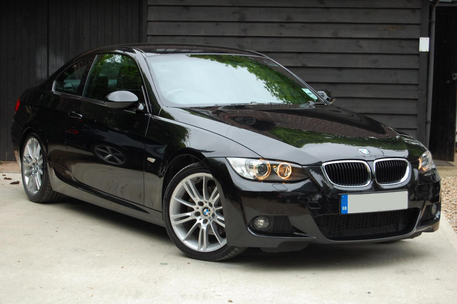 Black Bmw 320d M Sport Coupe Car Photos Catalog 2018