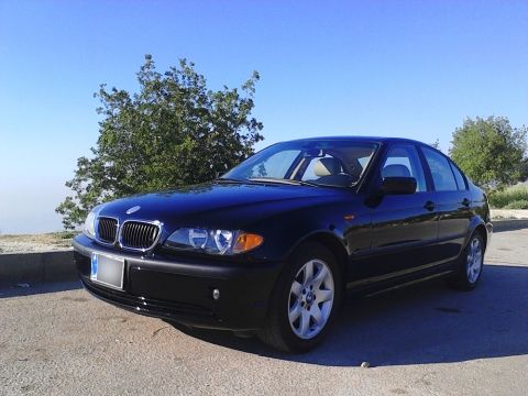 black bmw 325i for sale photo - 3
