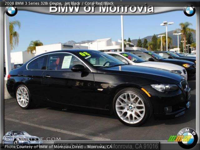 black bmw 328i coupe photo - 3
