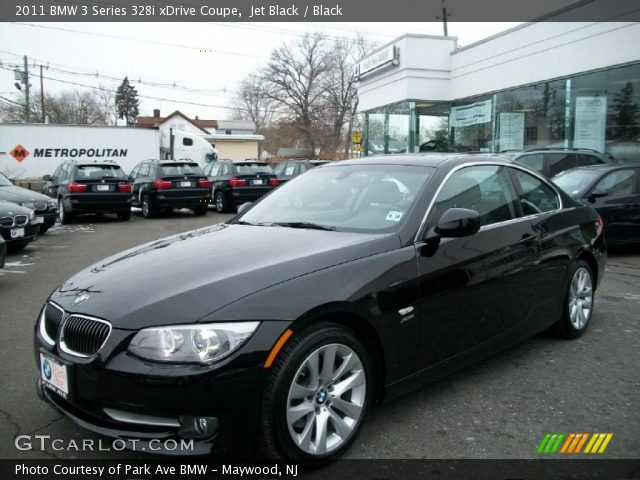 black bmw 328i coupe photo - 4