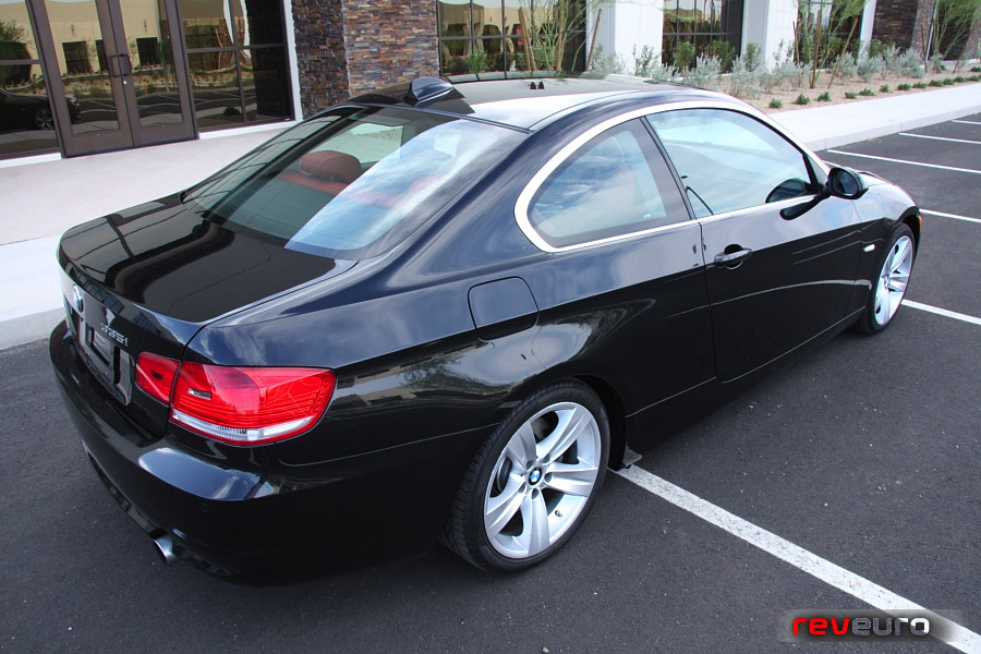 black bmw 335i coupe for sale photo - 1