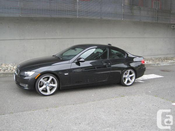 black bmw 335i coupe for sale photo - 2