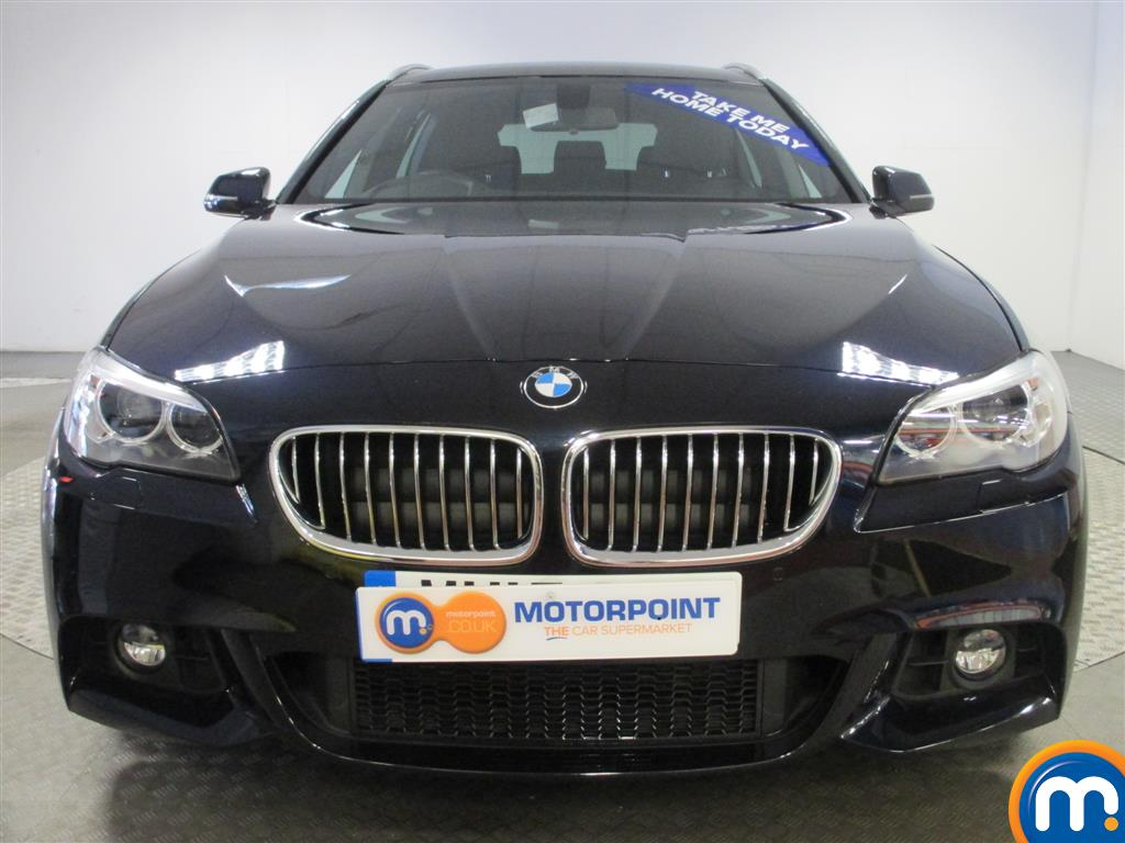 black bmw 5 series m sport for sale photo - 4